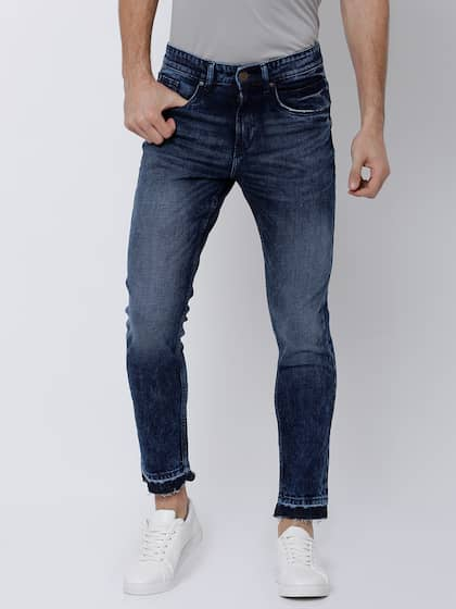 LOCOMOTIVE Men Blue Skinny Fit Mid-Rise Clean Look Stretchable Jeans