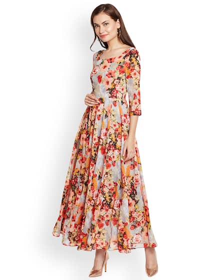 45a1e39f4 Floral Gown - Buy Floral Gown online in India
