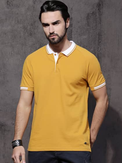 2c5897920d72f Collar T-shirts - Buy Collared T-shirts Online | Myntra
