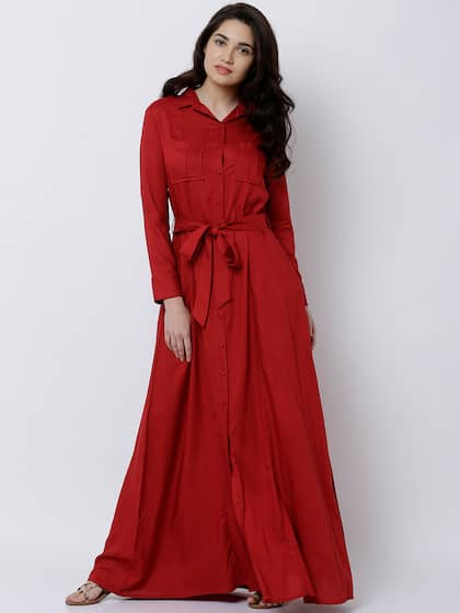 a3412de747 Red Dress - Buy Trendy Red Colour Dresses Online in India