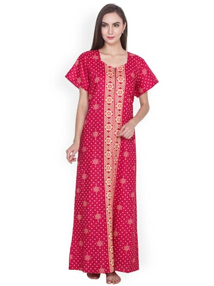 Cotton Nightdresses - Buy Cotton Nightdresses Online in India  f2a5dbe48