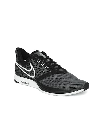 finest selection 73499 c7e4c Nike Women Charcoal Grey WMNS ZOOM STRIKE Running Shoes