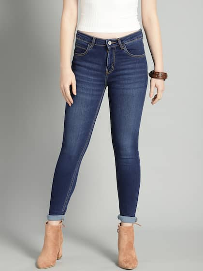 b49eda54079e5 Jeans for Women - Buy Womens Jeans Online in India   Myntra