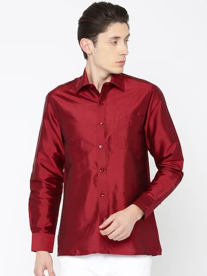 668e3e7609e74c Silk Shirt - Buy Pure Silk Shirts Online in India