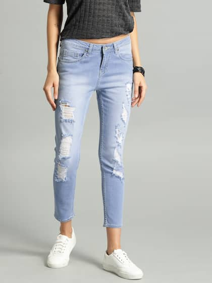 48b04ea09660 Ripped Jeans - Shop for Ripped Jeans Online in India | Myntra