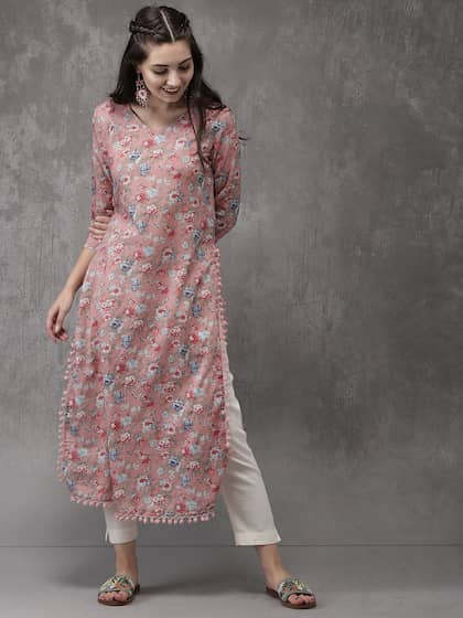 4b16773e8de174 Kurtis Online - Buy Designer Kurtis   Suits for Women - Myntra