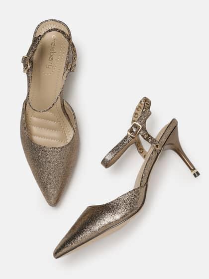 fb8b503b58 Gold Heels | Buy Gold Heels Online in India at Best Price