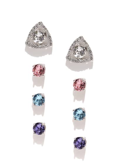 0b61244a4 Crystal Earrings - Buy Crystal Earrings Online in India