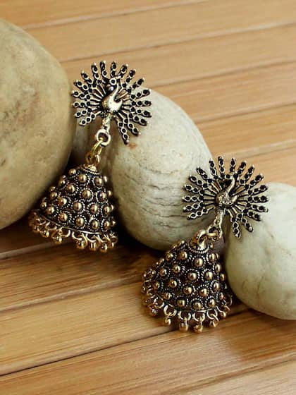 5bbde823f Jhumkas - Buy Jhumka Earrings Online in India | Myntra