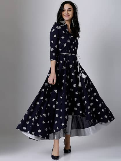 ad74a346fac02 Kurtis Online - Buy Designer Kurtis & Suits for Women - Myntra