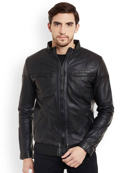 2d556179da7 Leather Jackets - Buy Leather Jacket Online in India