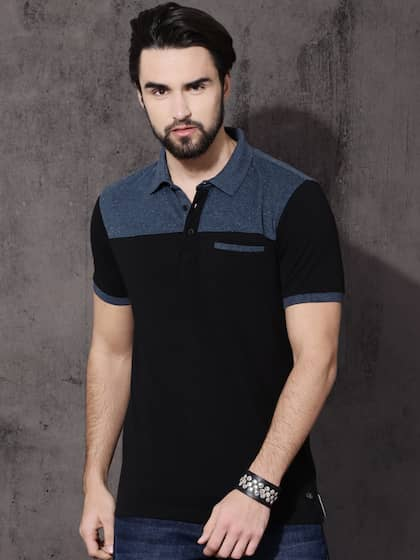 f8012d77 Collar T-shirts - Buy Collared T-shirts Online | Myntra