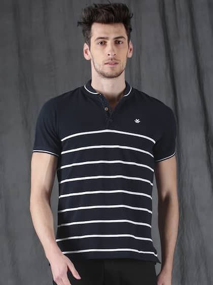 76aee7309 Collar T-shirts - Buy Collared T-shirts Online | Myntra