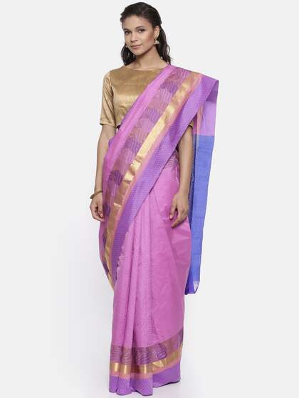 bb139d5c844a6 The Chennai Silks. Woven Design Kanjeevaram Handloom Saree