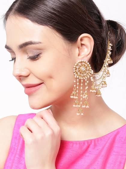 aa3f863d226c3 Earrings - Buy Earring for Women & Girls Online in India | Myntra