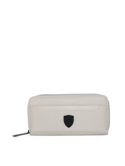 Puma. Women Solid Zip Around Wallet edb43435ad64e