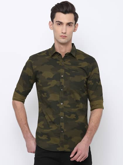 db1fd27782 Camouflage Shirts - Buy Camouflage Shirts online in India