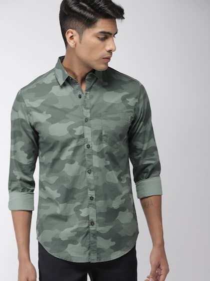 417ac37f2ac3 Camouflage Shirts - Buy Camouflage Shirts online in India