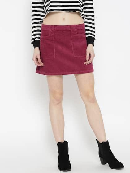 ede54c6ea886d Corduroy Skirts - Buy Corduroy Skirts online in India