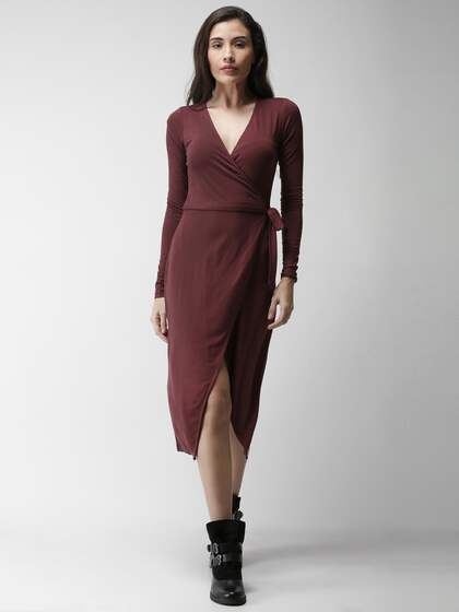 7e59d95ee3be Forever 21 Wrap Dresses - Buy Forever 21 Wrap Dresses online in India