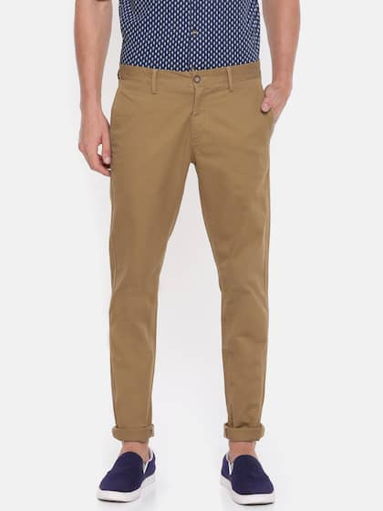 5bb95f204d Chinos - Buy Chinos for Men & Women Online in India | Myntra