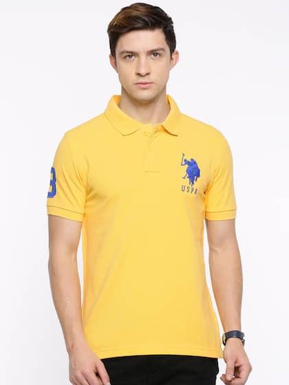 64879cee U S Polo T-Shirts - Buy U S Polo T-Shirts For Men & Women | Myntra