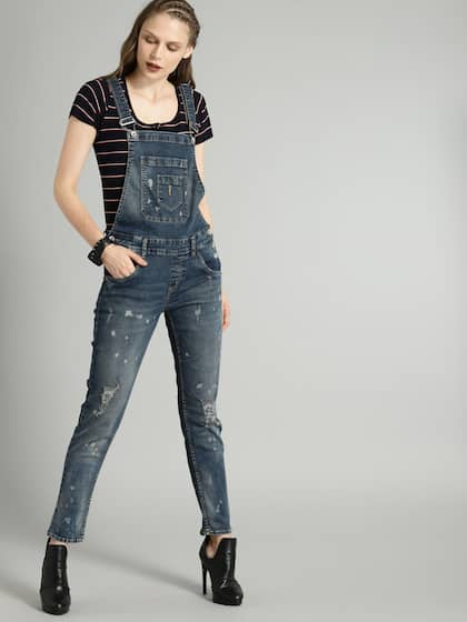 34f8bb0e5744 Dungarees - Buy Dungarees Dress for Women Online - Myntra