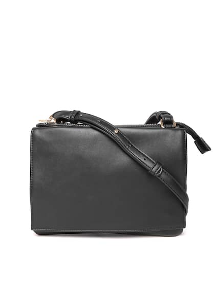 Forever 21 Black Solid Sling Bag