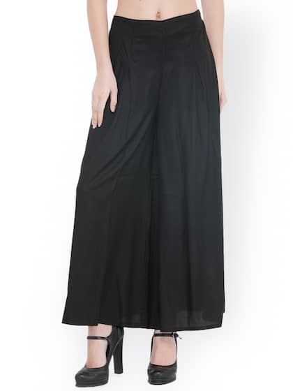 Palazzo Pant Buy Latest Palazzo Pants Online In India Myntra