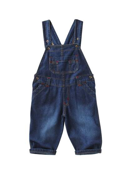 00bb6bd714e Navy Blue Blue Dungarees - Buy Navy Blue Blue Dungarees online in India