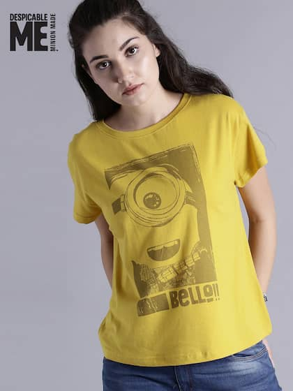 878adef96ea3 Minions by Kook N Keech. Printed Round Neck T-shirt