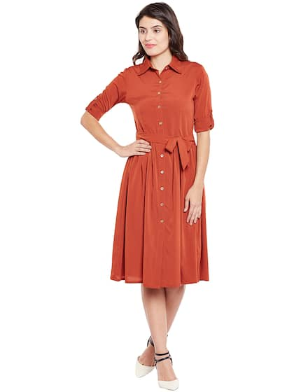 353e0e8d6d New Belted Dresses - Buy New Belted Dresses online in India