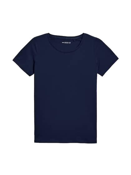 d13c606dbc54 T-Shirts for Women - Buy Stylish Women's T-Shirts Online | Myntra