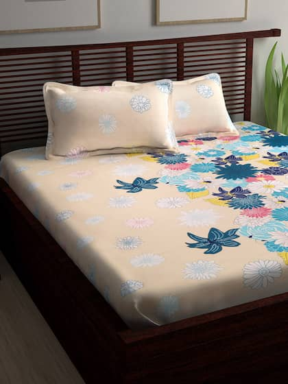 7ad240b4a3 Bedsheets - Buy Double & Single Bedsheets Online in India | Myntra