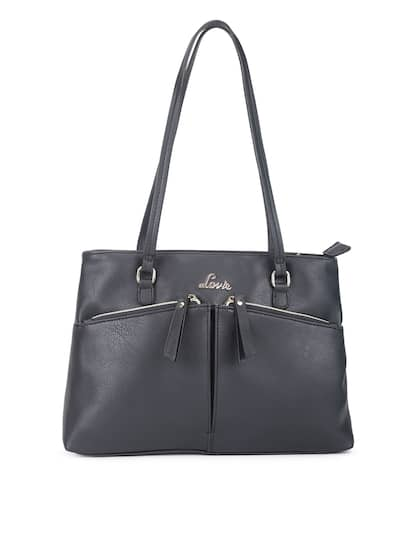 Lavie Black Solid Shoulder Bag