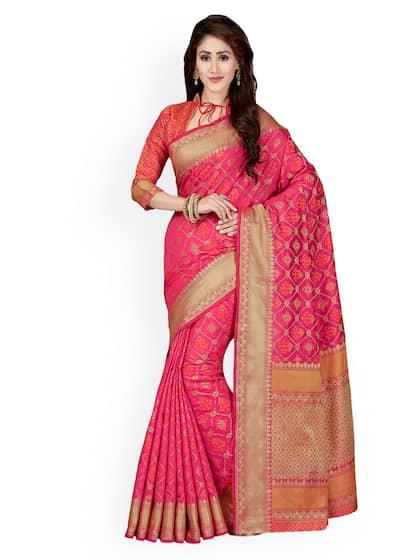 32f19d39d5bba7 Banarsi Saree - Authentic Banarsi Sarees Online - Myntra
