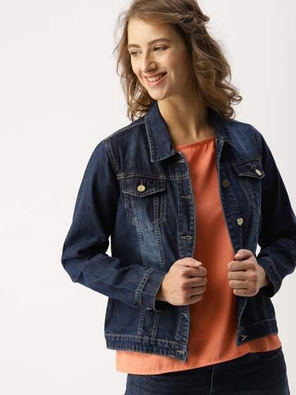 5a8f7658 Denim Jacket - Buy Denim Jacket Online - Myntra