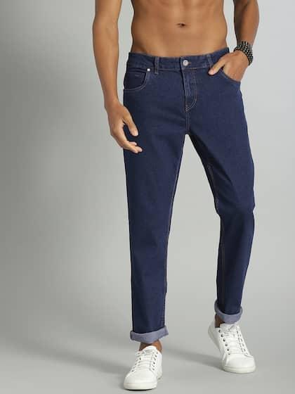 f9ab2b54abd Slim Fit Jeans - Buy Slim Jeans Online in India | Myntra
