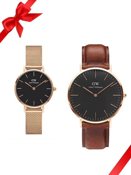 a62d239e483ee9 Leather Strap Watch - Buy Leather Straps Watches Online in India