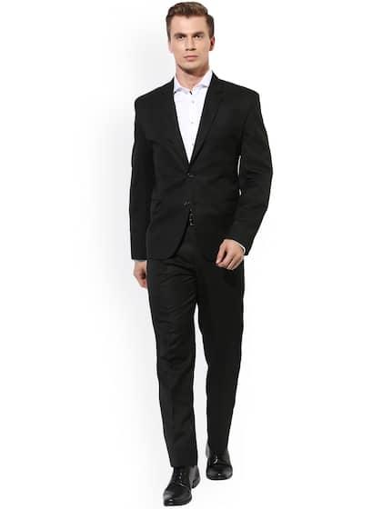 $815 MARC NEW YORK Men Classic Fit Suit BROWN PINSTRIPE 2 PIECE JACKET PANTS 38R