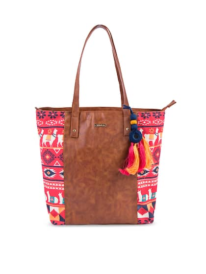 af3fd9e3a86 Tote Bag - Buy Latest Tote Bags For Women & Girls Online | Myntra