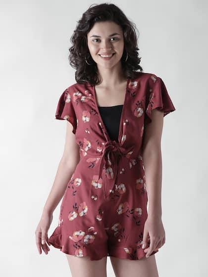 92083d7cf33 Floral Prints Women Jumpsuit - Buy Floral Prints Women Jumpsuit ...