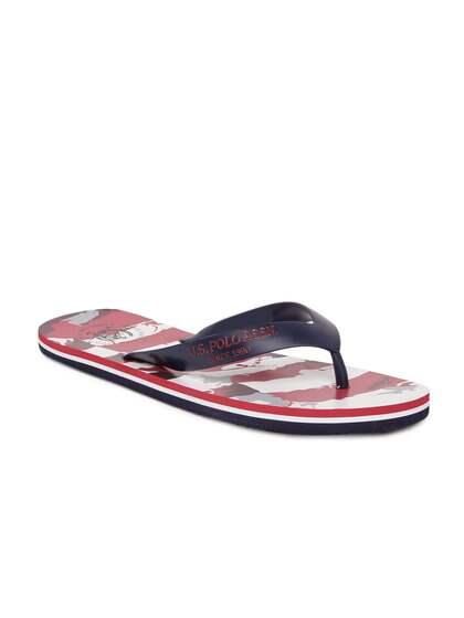 b6264b1fc65950 Us Polo Assn Flip Flops - Buy Us Polo Assn Flip Flops online in India