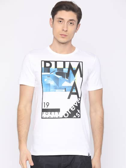 872cad1c583 Puma T shirts - Buy Puma T Shirts For Men & Women Online in India