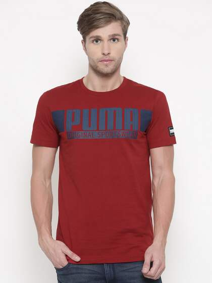 bfb057fc Men T-shirts - Buy T-shirt for Men Online in India   Myntra