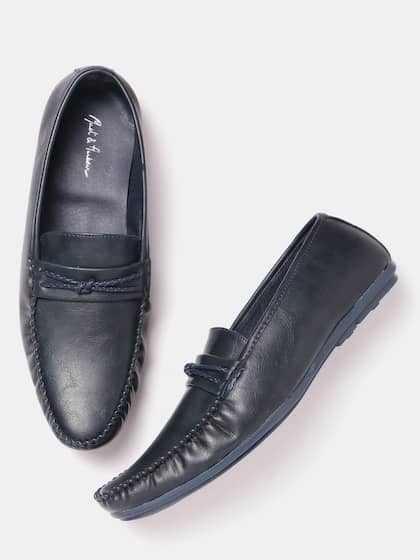 09f46aaf9e0 Navy Blue Loafers - Buy Navy Blue Loafers online in India