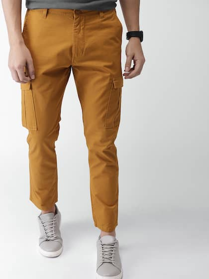 d20c72ed217d22 Cargo Pants For Men - Buy Latest Trendy Cargo Pants Online | Myntra