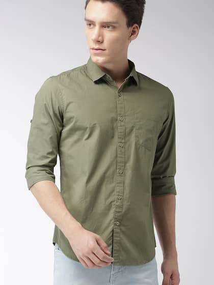 0217d87d Casual Shirts for Men - Buy Men Casual Shirt Online in India