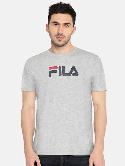 e3ba0940902d Fila T-shirt - Buy Fila T-shirts for Men   Women Online in India