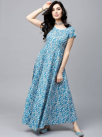 fc5f4b57a12f Long Dresses - Buy Maxi Dresses for Women Online in India - Upto 70% OFF